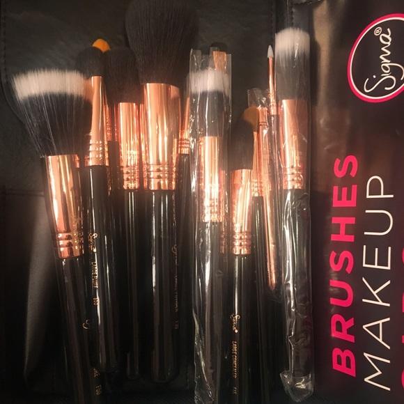Lot of 15 Sigma Copper Extravaganza Brush Set